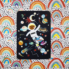 Load image into Gallery viewer, Personalised Astronaut Large Scale Print