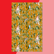 Load image into Gallery viewer, Exotic Bamboo in Sienna Tea Towel