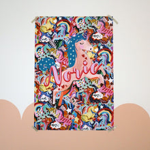 Load image into Gallery viewer, Personalised Magic Unicorn Large Scale Print