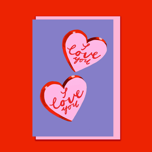 'I Love You' Valentine's Day Card