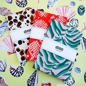 NEW Animal Print Tea Towel Trio