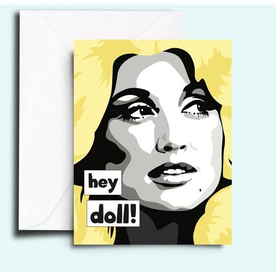 Hey Doll (Dolly) Card