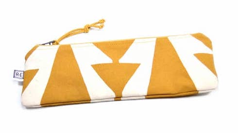 Mustard Casita No. 2 Pencil Case