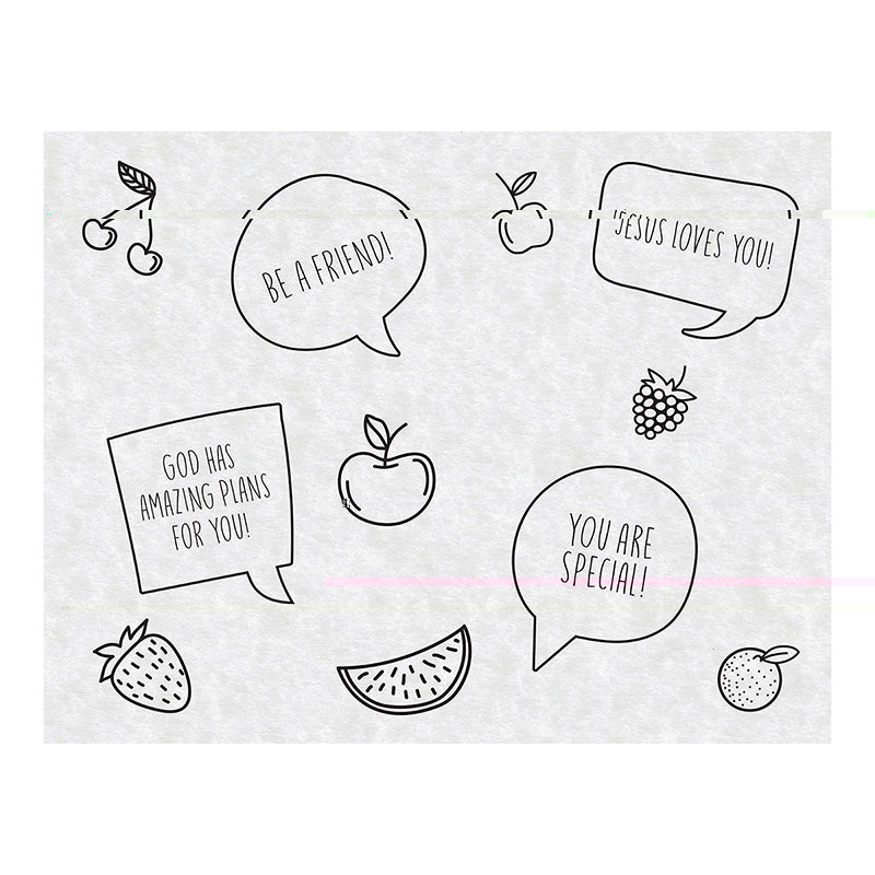 Fruity | Snack Sheets