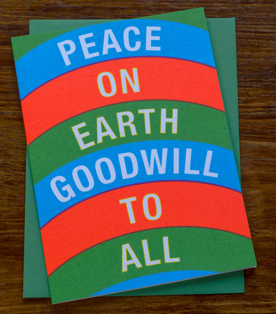 Peace on Earth | Screen Printed Card