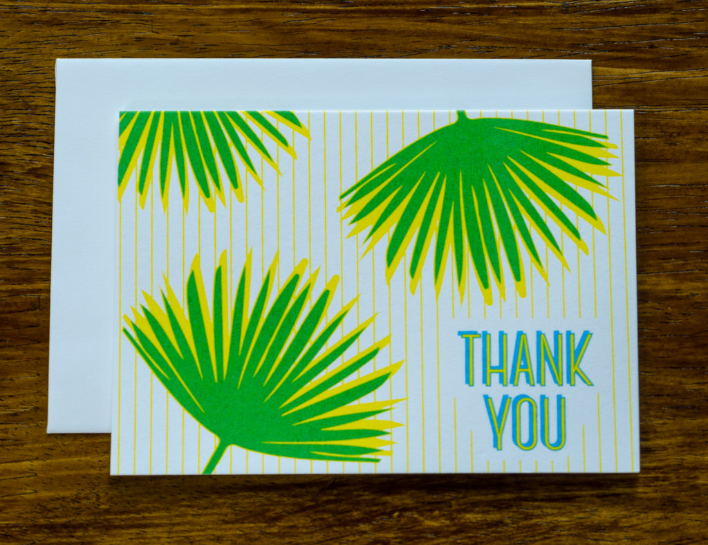 Thank You Palm | Note Cards
