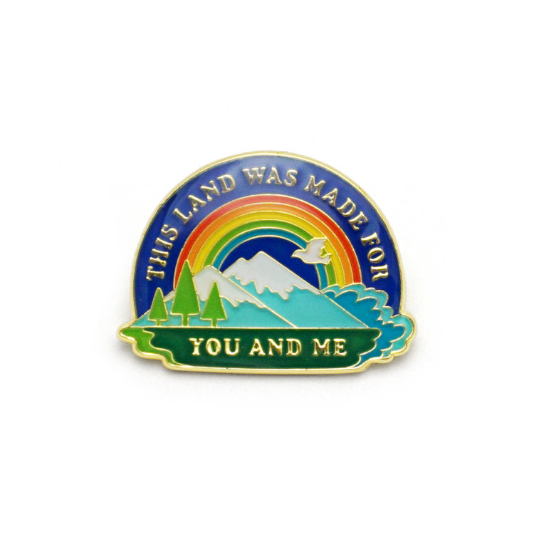 This Land Is Your Land | Enamel Pin