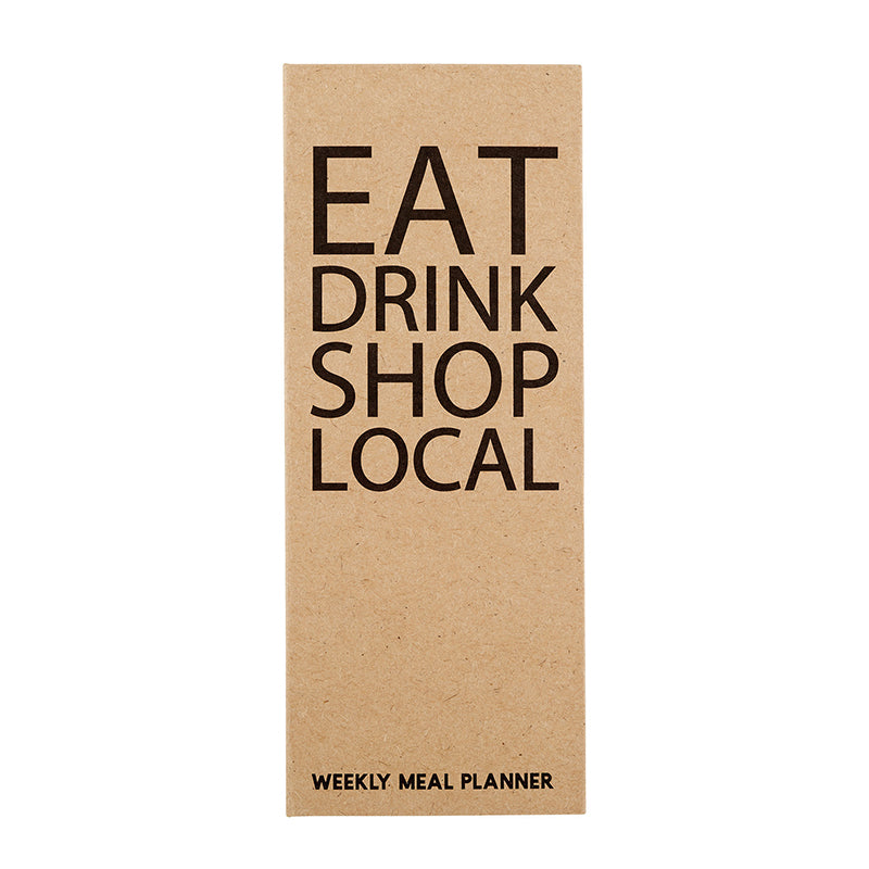 Eat, Drink, Shop, Local | Weekly Meal Planner