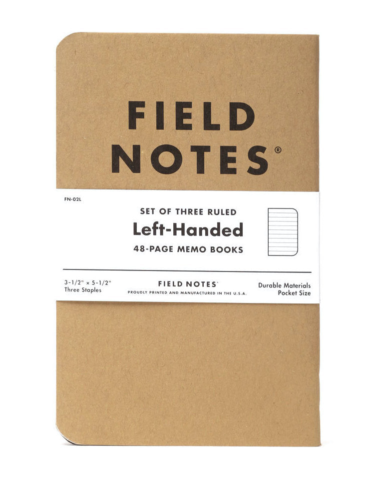 Left-Handed Kraft Memo Book | Field Notes
