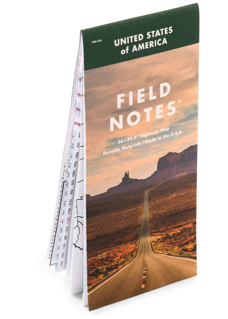 National Highway Map | Field Notes