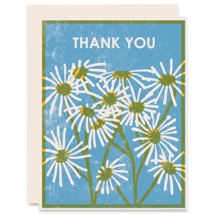 Thank You Daisies | Letterpress Card