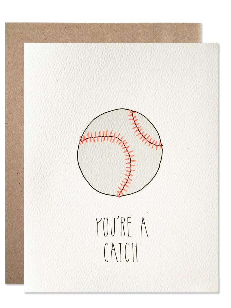 You're a Catch Baseball Card