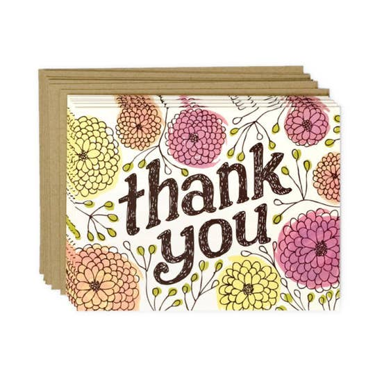 Thank You Zinnias | Boxed Card Set