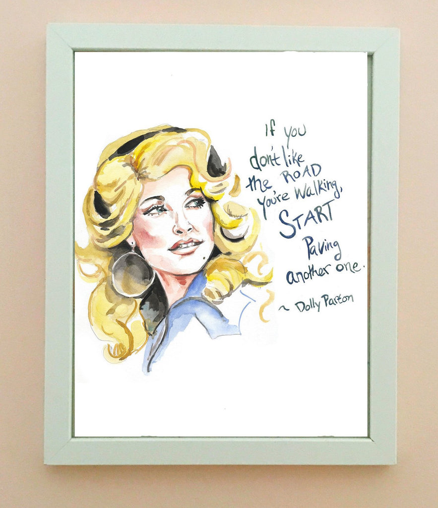 Dolly Parton Portrait | Art Print