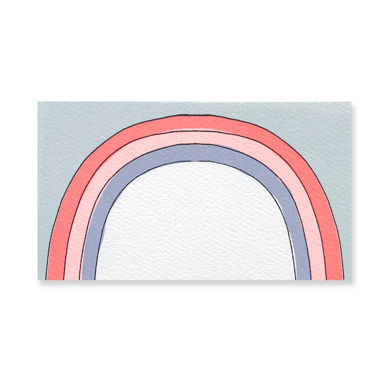 Rainbow | Mini Card