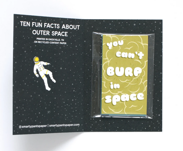 Outer Space Lunch Box Notes