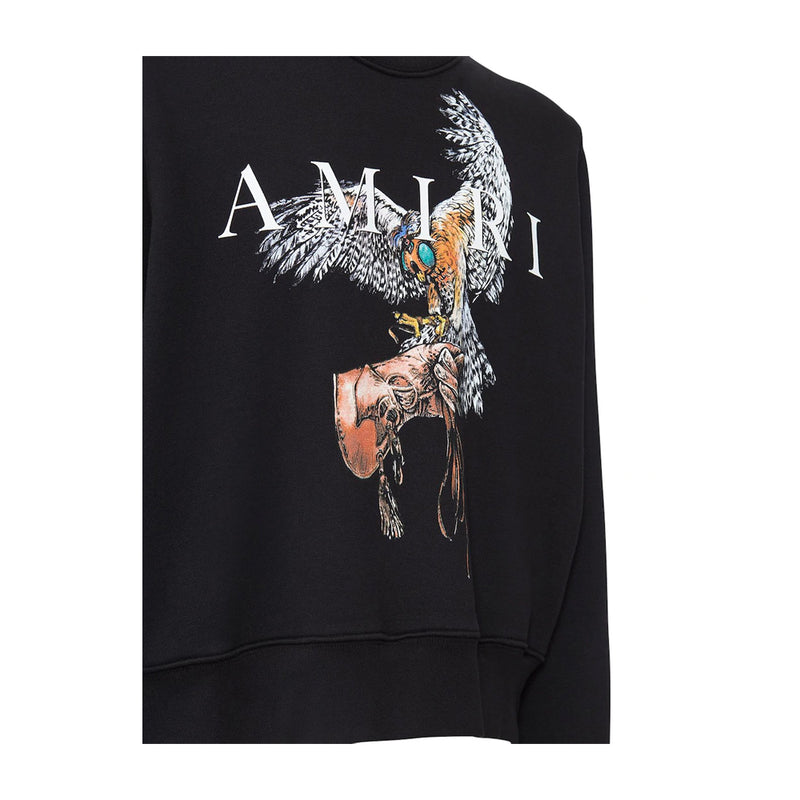 Amiri Falcon Print Cotton Jumper
