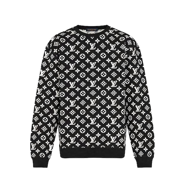 Louis Vuitton - Full Monogram Jacquard Crew Neck