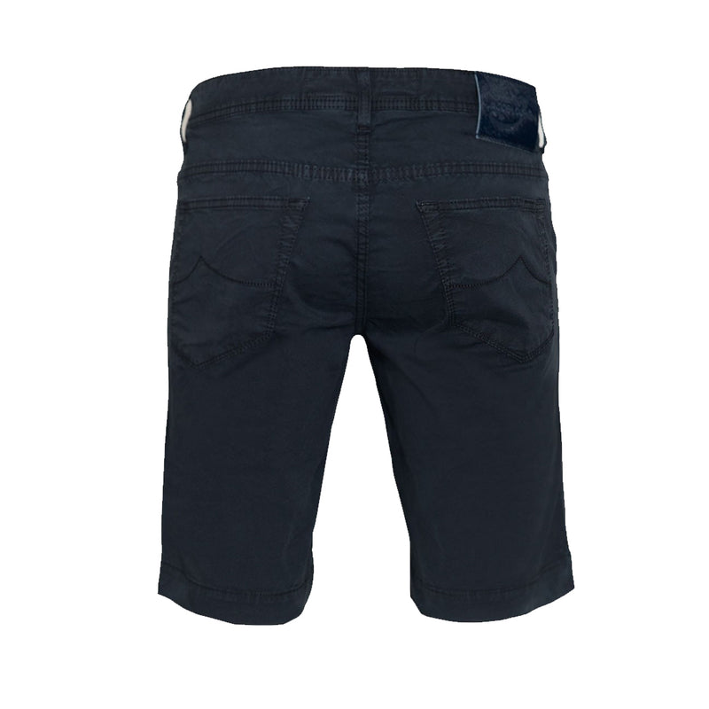 Jacob Cohën Mens Straight Leg Demin Shorts (Navy)
