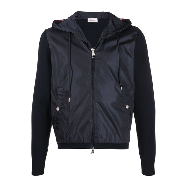 Moncler Hooded Zip Up Jacket