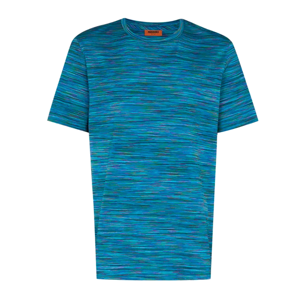 Missoni FW20 Stripe Knit Cotton T-Shirt