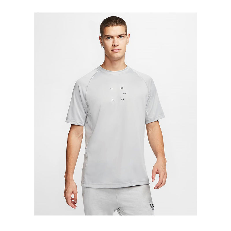 Nike Tech Pack Short Sleeve Grey T-Shirt