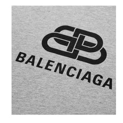 Balenciaga BB oversized Logo T-shirt (grey)
