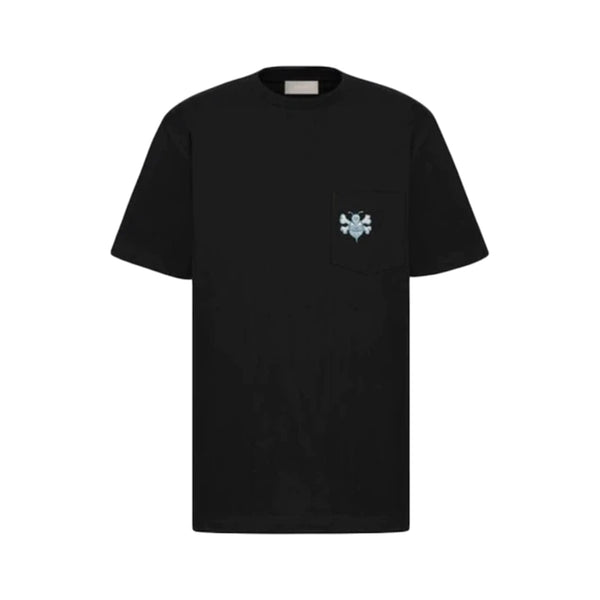 Christian Dior And Shawn Oversized Bee T-Shirt (black)