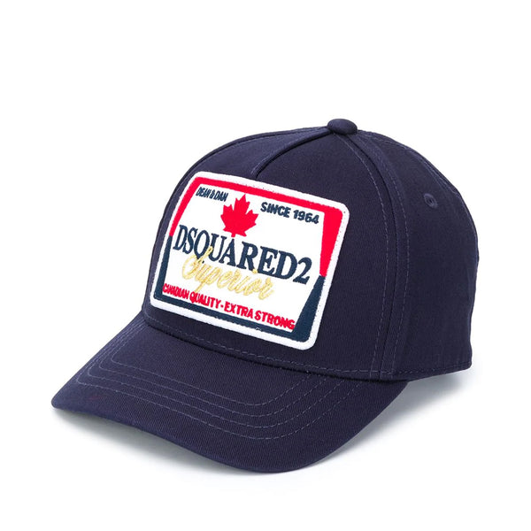 Dsquared2 Kids Logo-Patch Cap