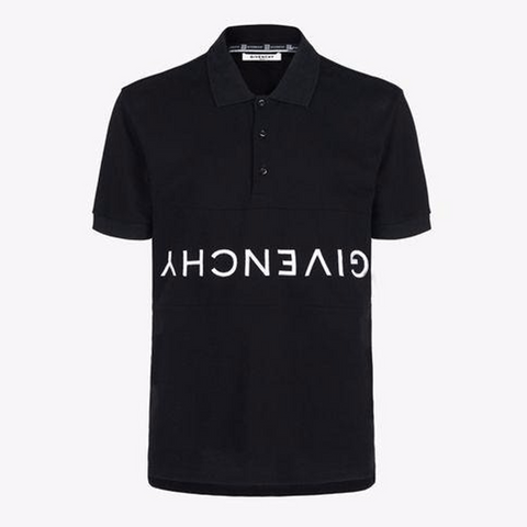 Givenchy Upside Down Polo Shirt