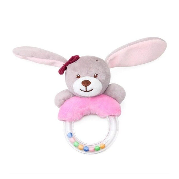 Cute Innovative Baby Rattle Toys Rabbit Plush Baby Cartoon Bed Toys For Newborn