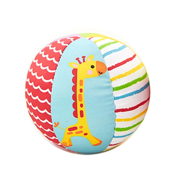 Baby Educational Rattles Toys Children Animal Ball Soft Plush Toys with Sound