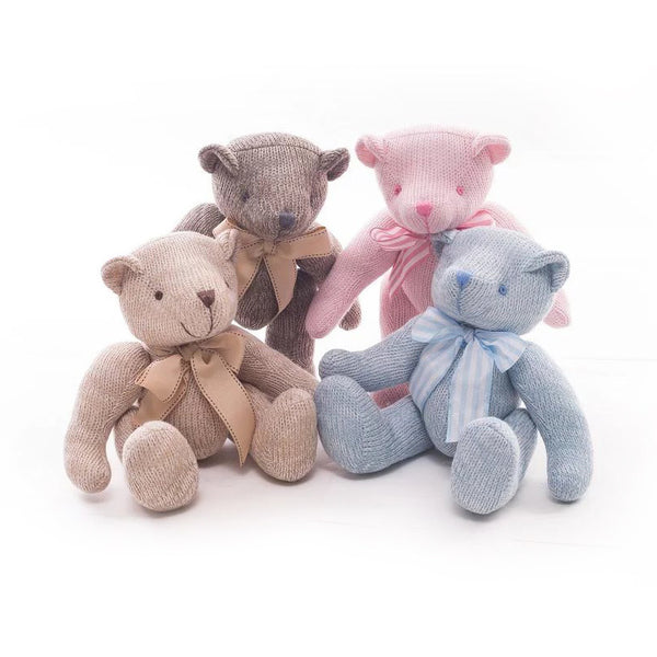 Cute Lovely  Creative Knitting  Teddy Bear Plush  Doll Baby Toys