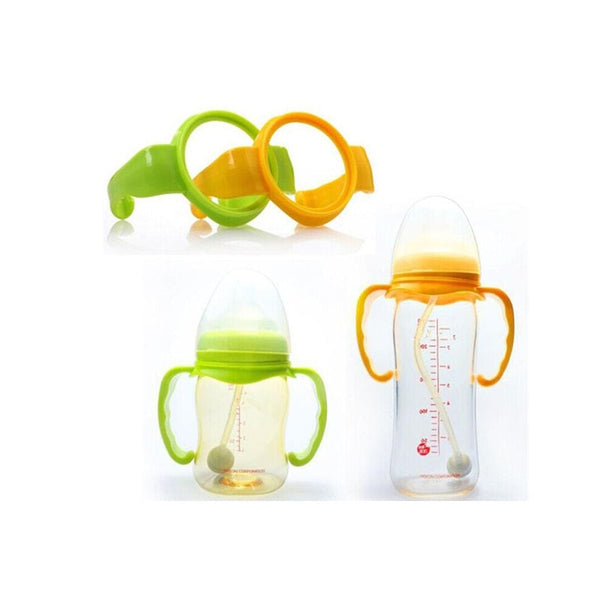 1Pc Baby Feeding Care Milk Cups Bottle Learn Feeding Drinking Grip Handle Bottle