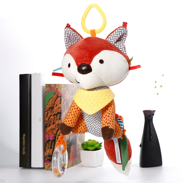 Hot Sale Lovely Fox Soft Plush Toy Doll Newborn Baby Bed Hanging Toy