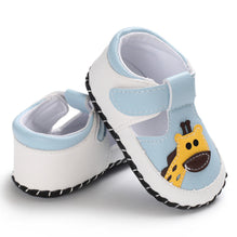 Newborn Baby Girl Boy Shoes Summer Kid First Walkers Infant Soft Sole PU Crib Shoes