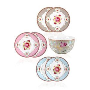 Pip Studio Floral Set of 7