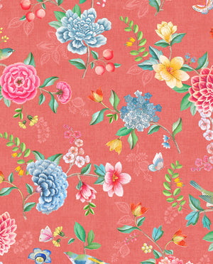 Pip Studio No 100 Wall Paper, Red/Multi Colour