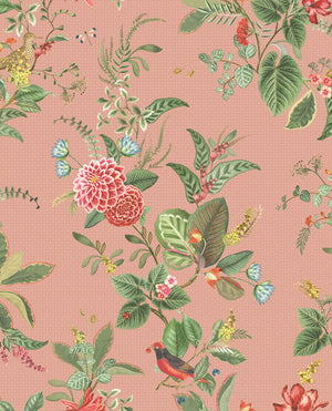 Pip Studio No 110 Wallpaper, Pink / Multi Colour