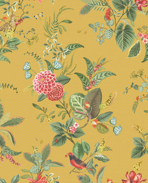 No. 110 Pip Studio Wallpaper, Yellow / Multi Colour