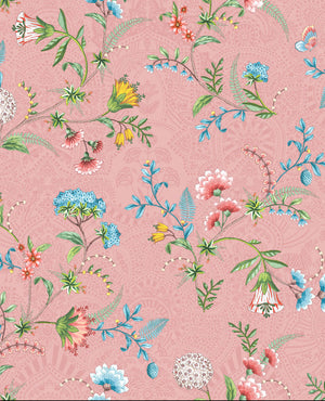 Pip Studio No 120 Wallpaper, Pink / Multi Colour