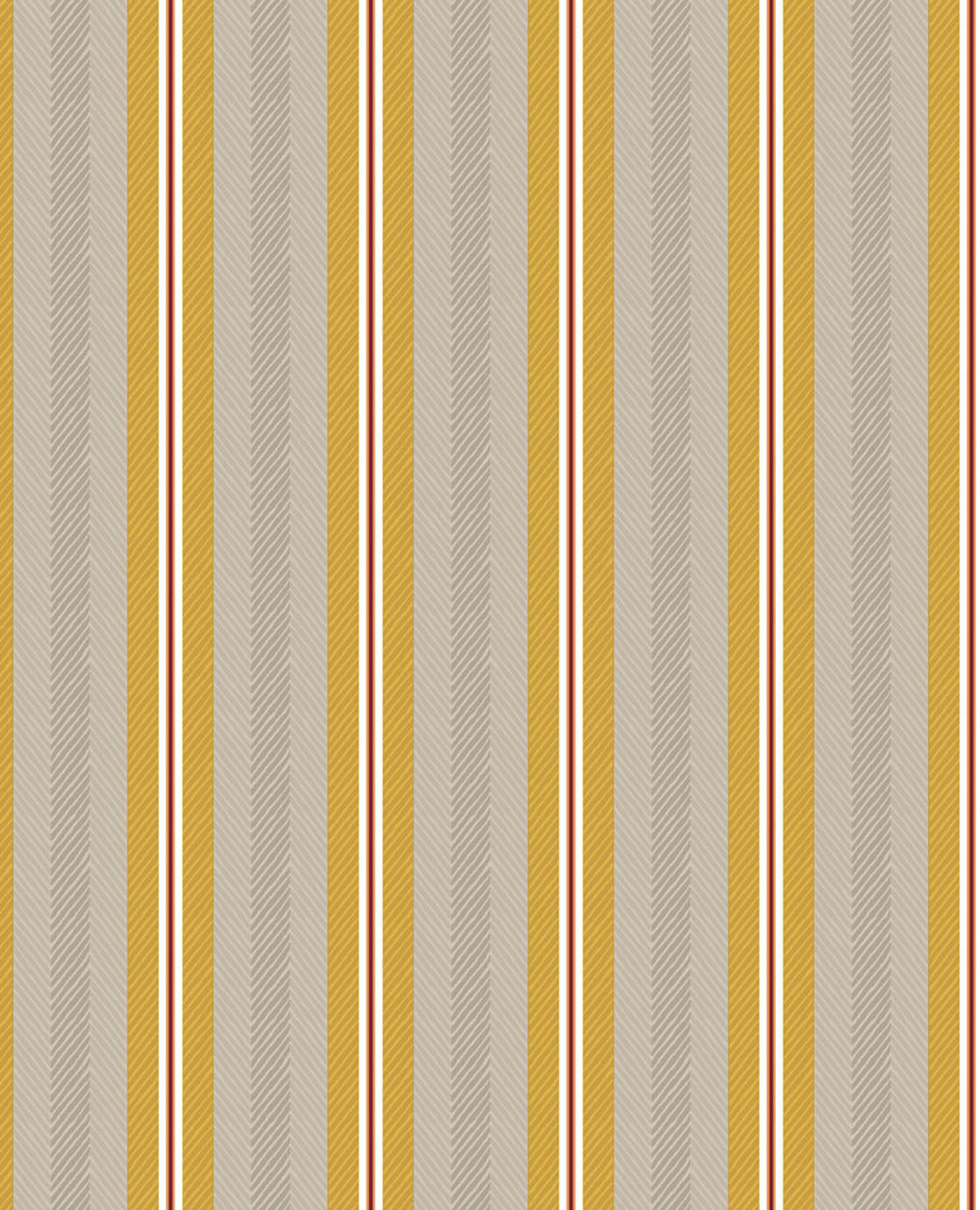 Pip Studio No 130 Wallpaper, Yellow / Multi Colour