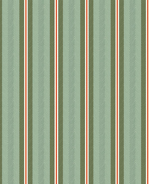 Pip Studio No 130 Wall Paper, Green/Multi Colour