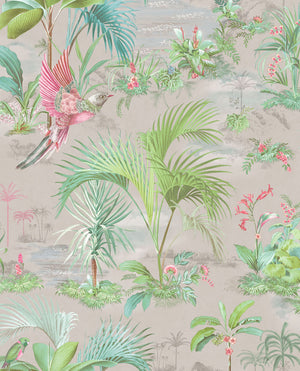 Pip Studio No 140 Wallpaper, Gray / Multi Color
