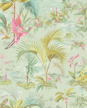 No. 140 Pip Studio Wallpaper, Yesil / Multi-Colour