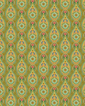 Pip Studio No 150 Wallpaper, Yellow / Multi Color