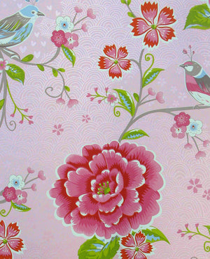 Pip Studio No 160 the wallpaper, pink / Multi Colour