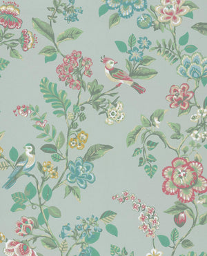 Pip Studio No 6 Wallpaper, Blue, Green, Multi Color, 0,52 x 10