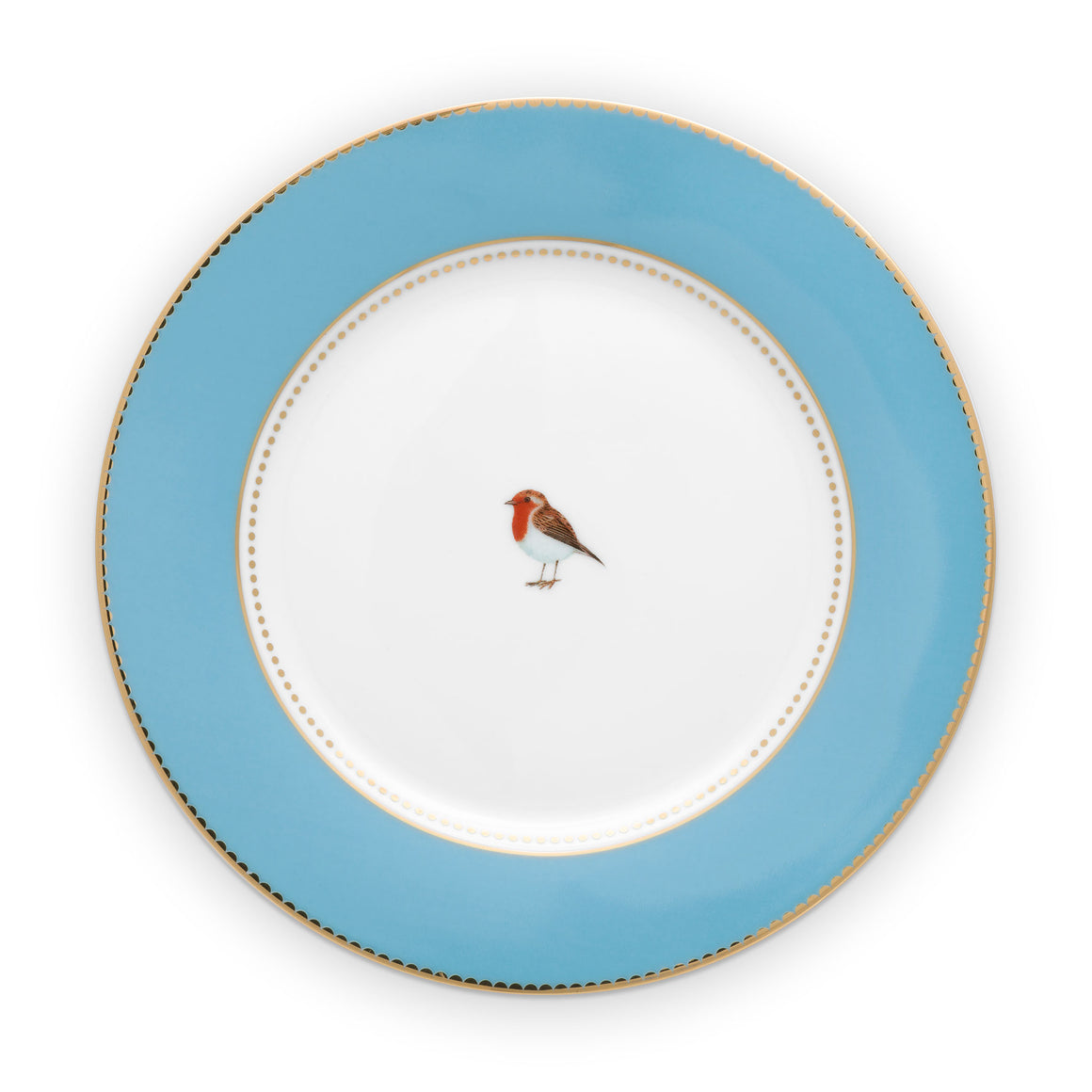21 inches, blue plate love Bird