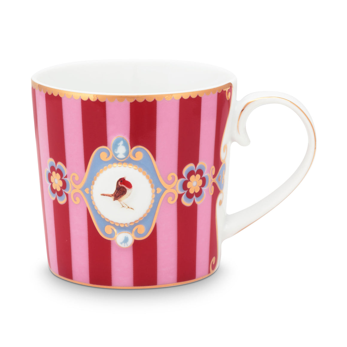 Love Bird Little Mug, Red/Pink